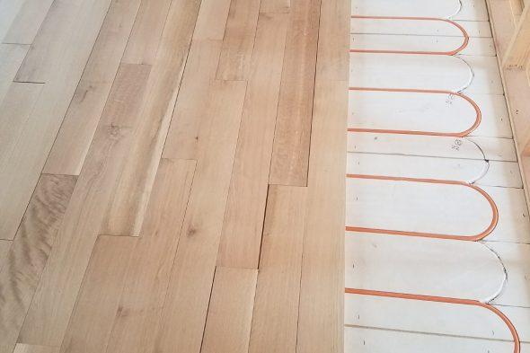 Hardwood floors & Radiant heating systems